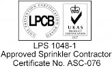 LPCB Approved Sprinkler Contractor
